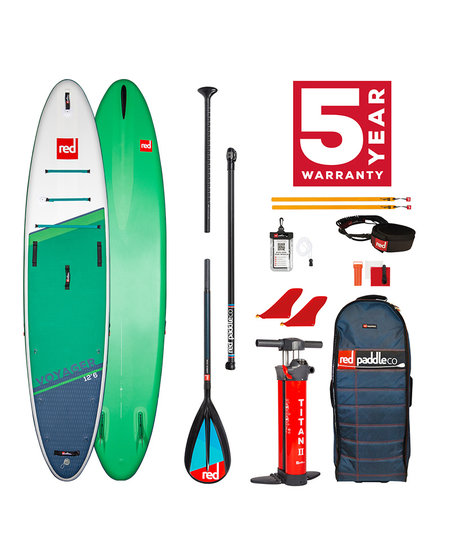 """Red Paddle 12'6"""" x 32"""" Voyager SUP-package 2021"""