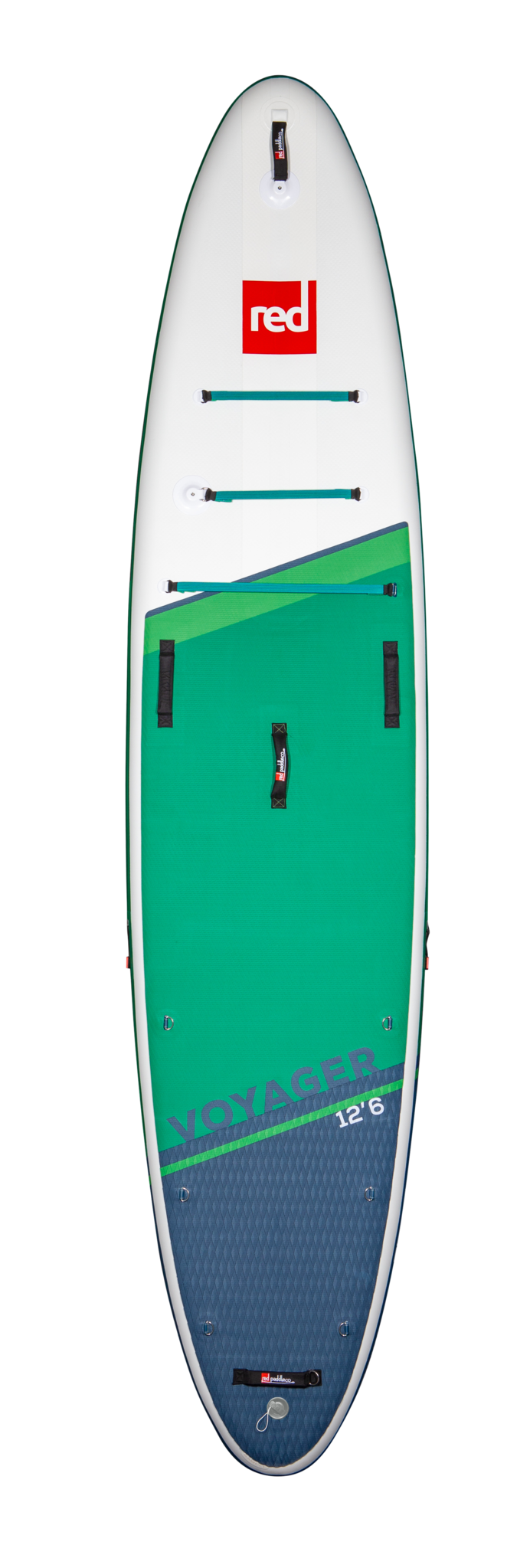 """Red Paddle Co Red Paddle 12'6"""" x 32"""" Voyager SUP-pakket 2021"""