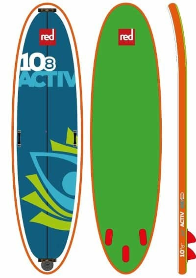 """Red Paddle Co Red Paddle 10'8"""" x  34""""  Activ SUP 2018"""