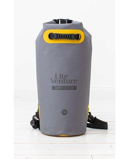 Lite Venture drybag 28 L  Dry Edition grey
