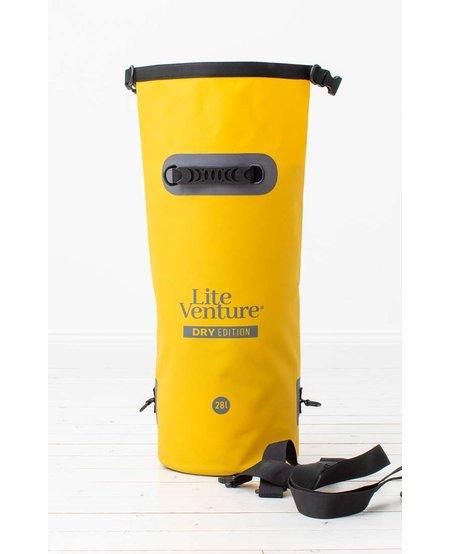 Lite Venture droogtas 28 L  Dry Edition geel