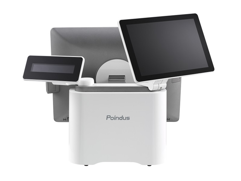 Poindus VariPOS 250 all-in-one POS - 128GBSSD -  4GBRam - Windows 10 Enterprise