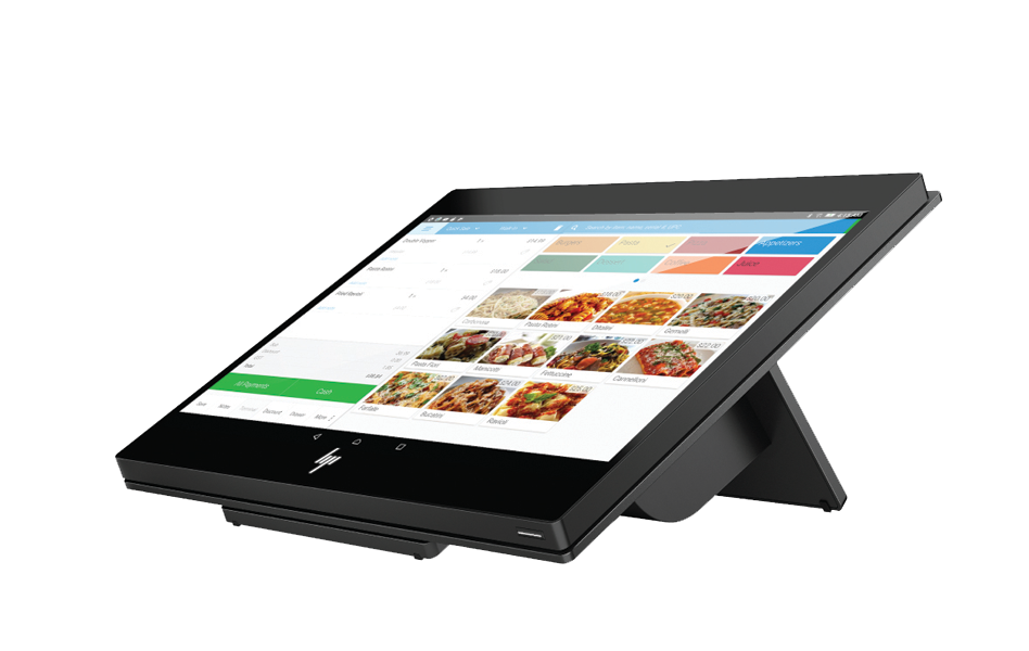HP A stylish point of sale system at an attractive price point