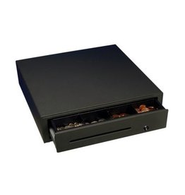Cash Drawer BLACK with RJ12 electronic opener