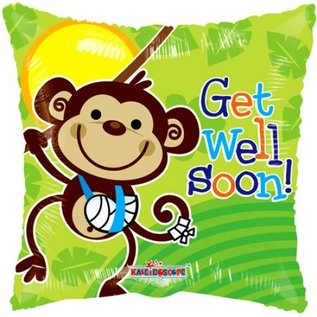 Ballon 'Get Well Soon!'