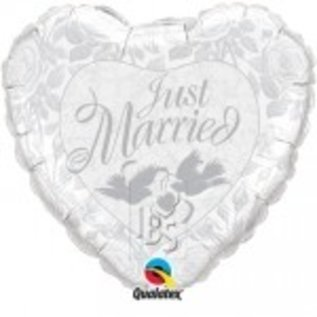 Ballon 'Just Married'