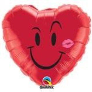 Ballon 'Love smiley'