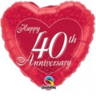 Ballon '40 jaar getrouwd'