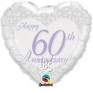 Ballon '60 jaar getrouwd'