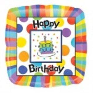 Ballon 'Happy Birthday'