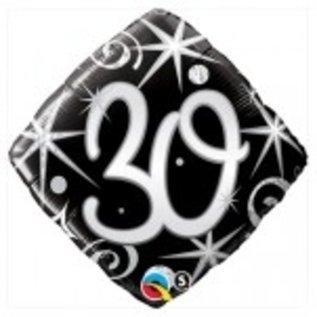 Ballon 'Happy Birthday' 30 jaar