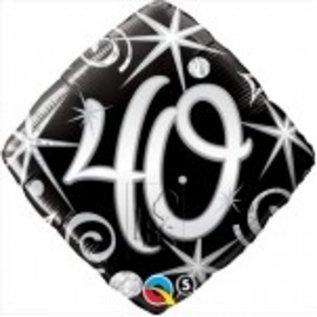 Ballon 'Happy Birthday' 40 jaar