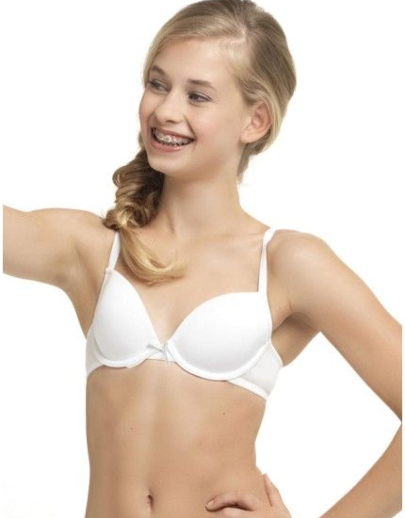Boobs & Bloomers BH Basis Beugel - wit