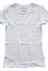 Basis T-Shirt meisjes - wit
