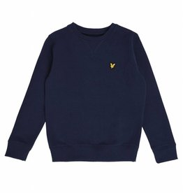 Lyle & Scott Basic Sweater LSC0016S - donkerblauw