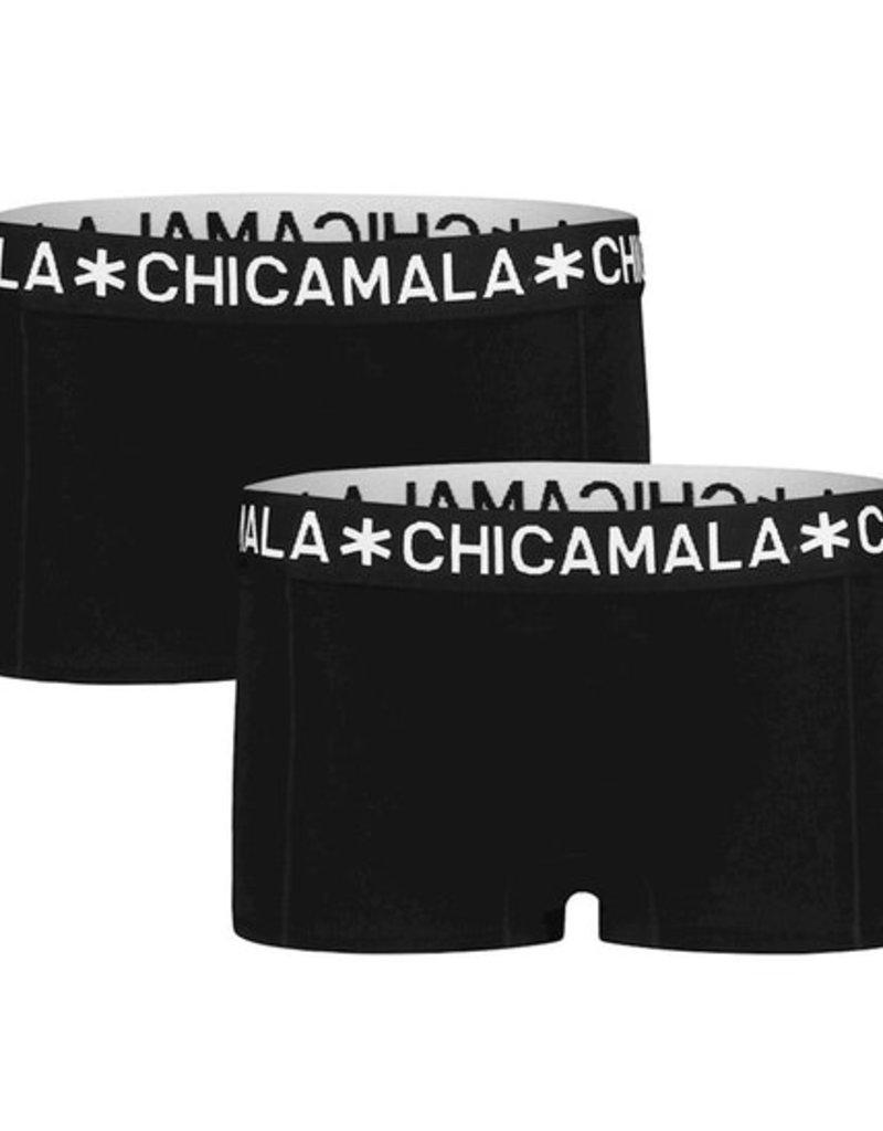 Chicamala Boxershort 2- pack - zwart