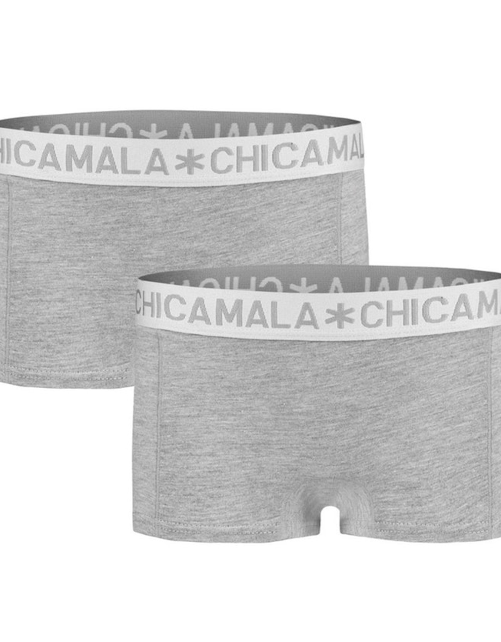Chicamala Boxershort 2- pack - grijs