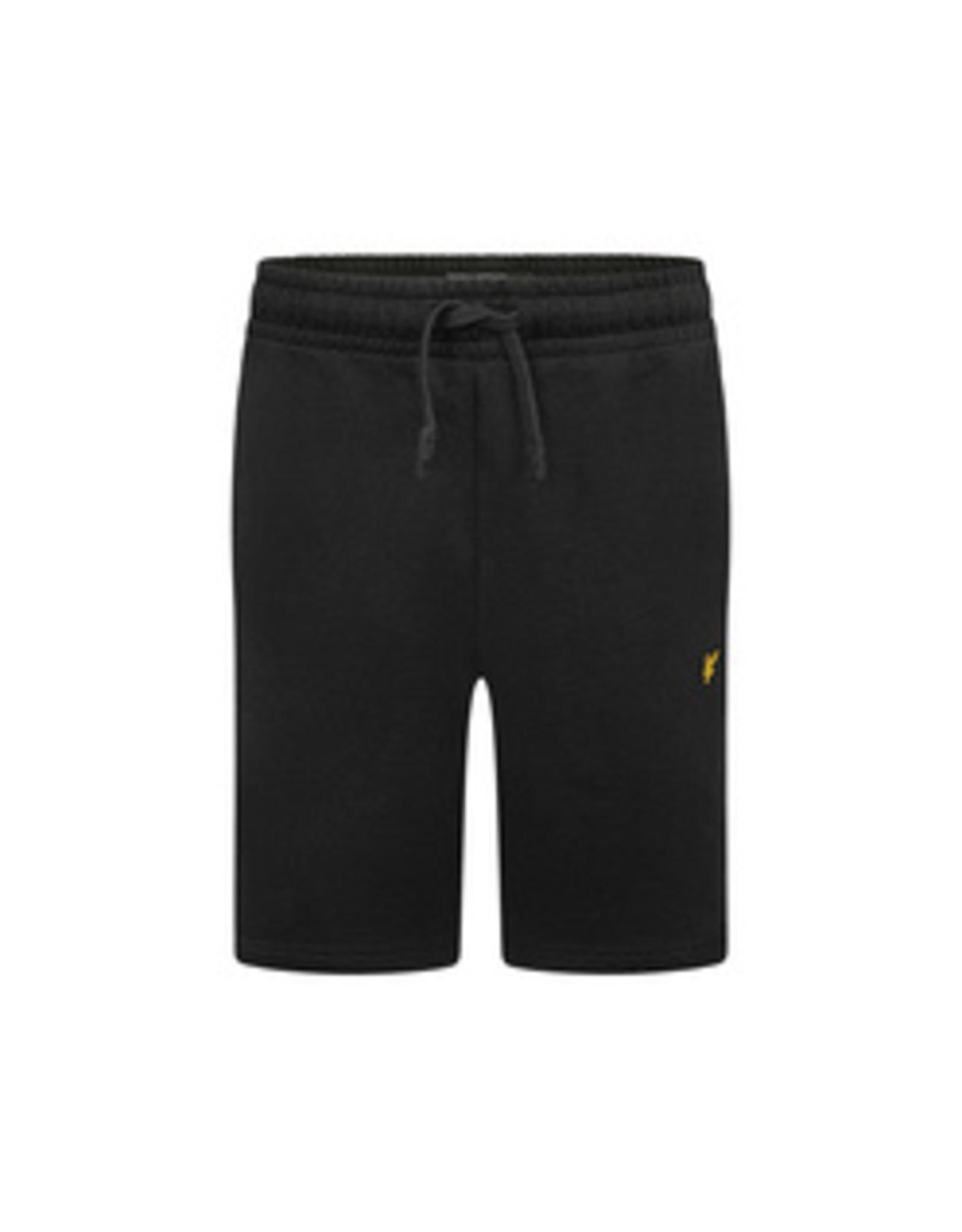 Lyle & Scott Basic korte joggingbroek LSC0051S - zwart