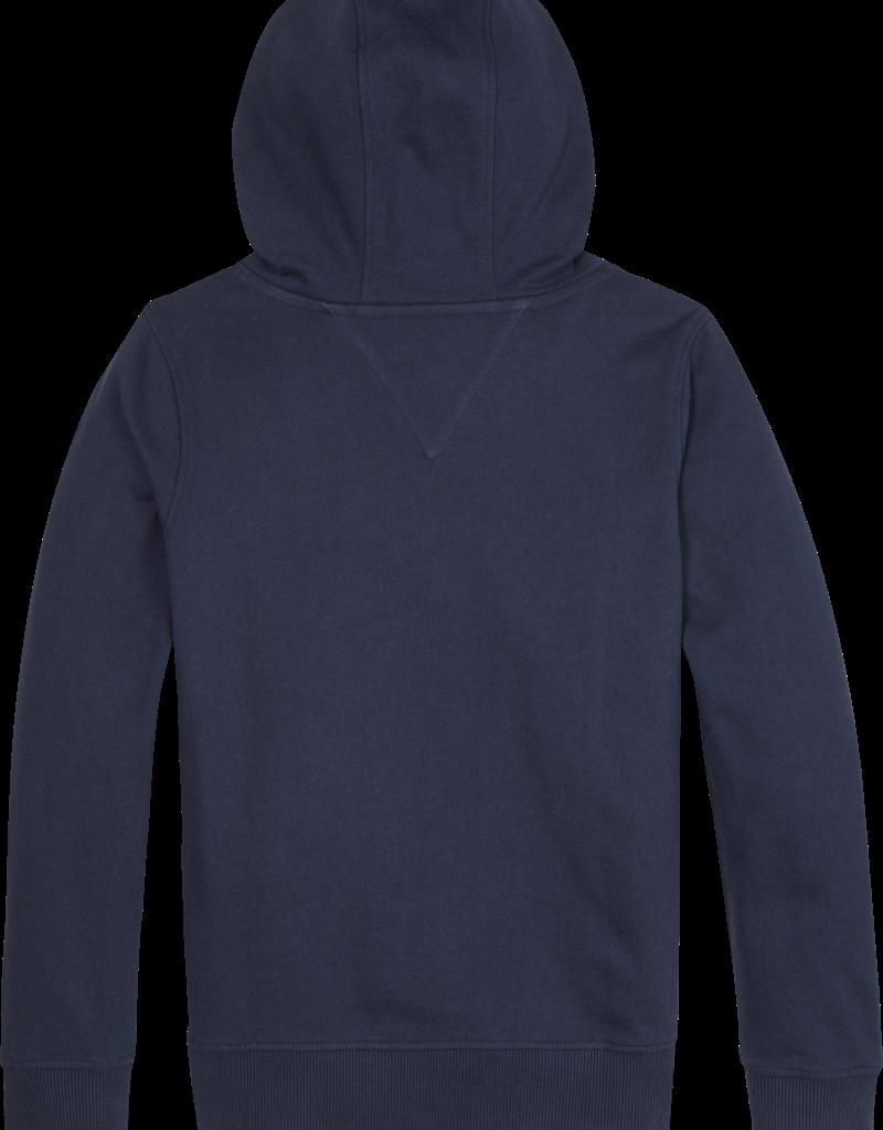 Tommy Hilfiger Hoodie 05673 essential - donkerblauw