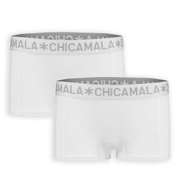 Chicamala Boxershort 2- pack - wit