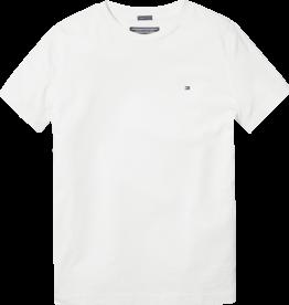 Tommy Hilfiger Basis T-Shirt ronde hals 04140 - wit