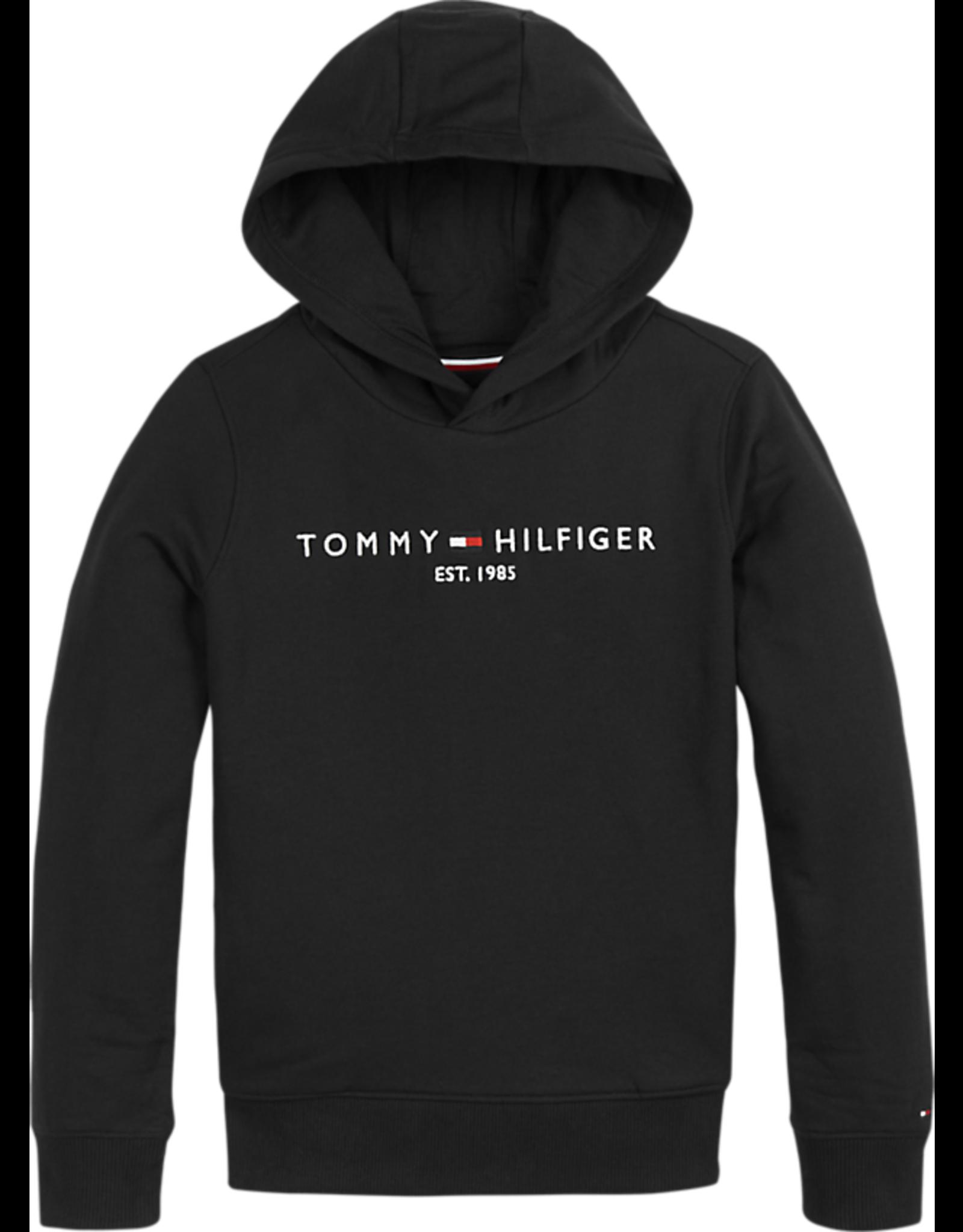 Tommy Hilfiger Hoodie 05673 essential - zwart