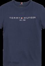 Tommy Hilfiger T-Shirt 05844 essential - donkerblauw