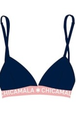 Muchachomalo Triangle top Girls Huski - blauw