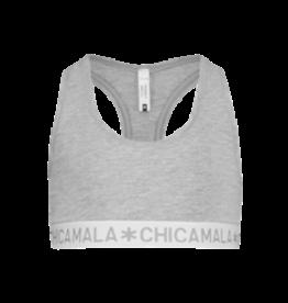 Muchachomalo Racerback basis Top - grijs