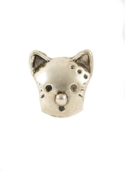 Bandajanas Slipper charm, Cat head, set