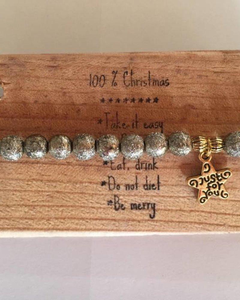 Bandajanas Weihnachts-Armband