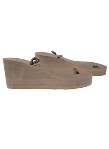 Bandajanas Slipper Taupe High