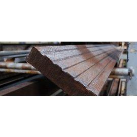 Klp Lankhorst KLP Vlonder Plank / Deck Plank Bruin.............................. 3 x 15 x 300 cm
