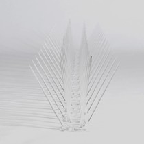 Pigeon bird spikes  on 0,5 mt POLY-base 30 spikes, MIC230 - 0,5 m/lenght