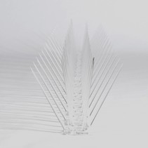 Pigeon bird spikes POLY-strip 30 spikes, MIC230 - 0,5 m/strip