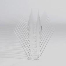 Kunststof duivenpinnen op kunststof strip,  30 pinnen, MIC230 - 0,5 mt/st