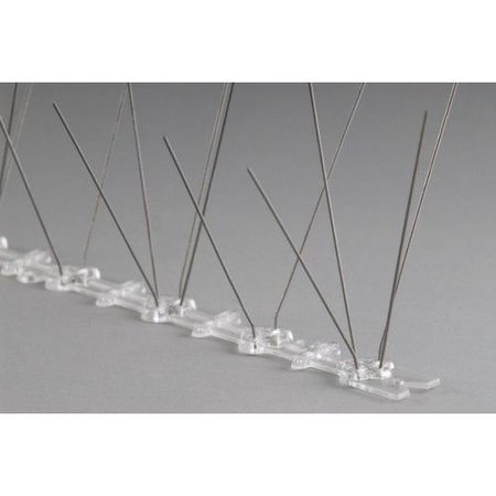 Duivenpinnen MIC103 op 0,5 mt kunststofstrip van 50 cm, met 30 RVS-pinnen - 0,5 mt/st