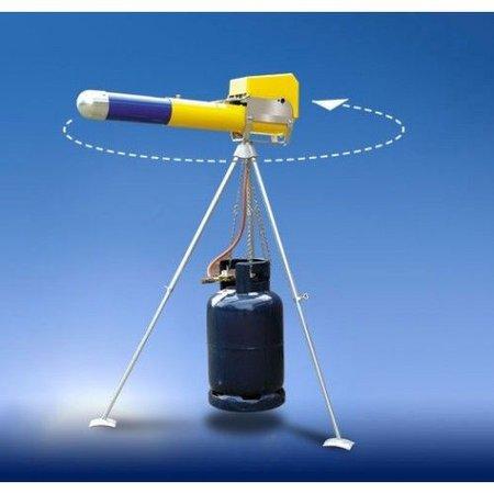 Dazon mechanisch knalapparaat ZM 4 telescopisch - gaskanon