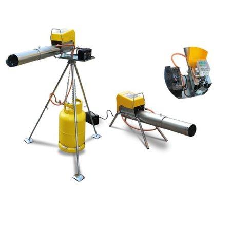 Knalapparaat Elektronisch EL08 - telescopische loop - gaskanon
