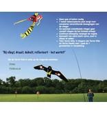 Twin Terror Kite Kit - stille vogelverjaag vlieger