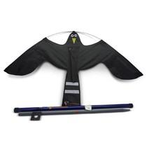 Black Hawk kite + 7 meters pole
