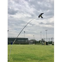 Bird Scaring Kite 4 meter met draaiende voet