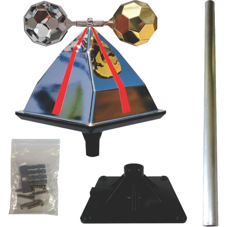 Eagle Eye wind-driven kit Silver & Gold supply only