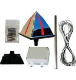 Eagle Eye Mains kit Silver & Gold - Motor-driven mirror pyramid