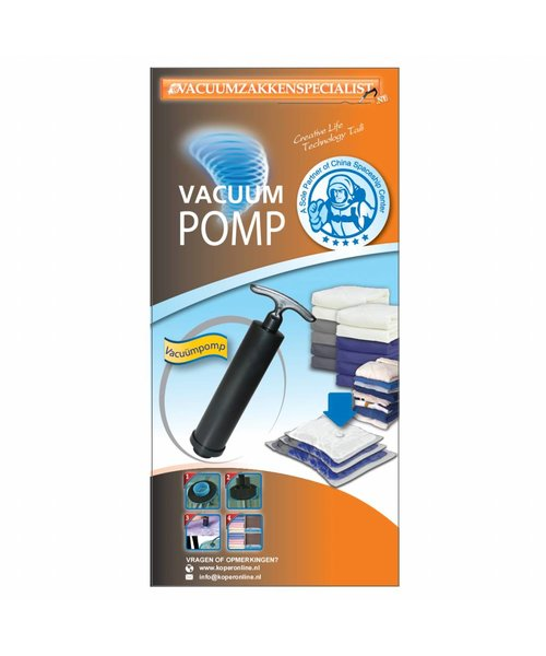 Pro Vacuumpomp Small [Alleen Geschikt Voor Pro Vacuumzakken]