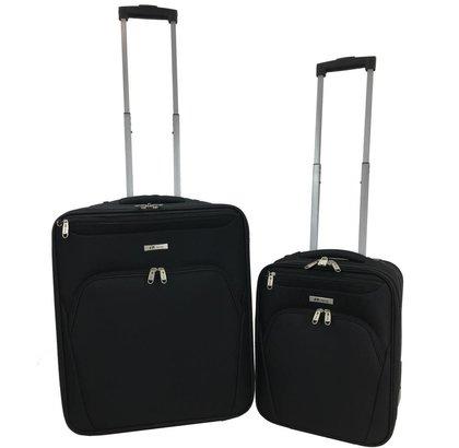 f18aa47300a R-Way Handbagage Koffer 56x45x25 + 42x32x20 cm €75,00 - KofferStunter