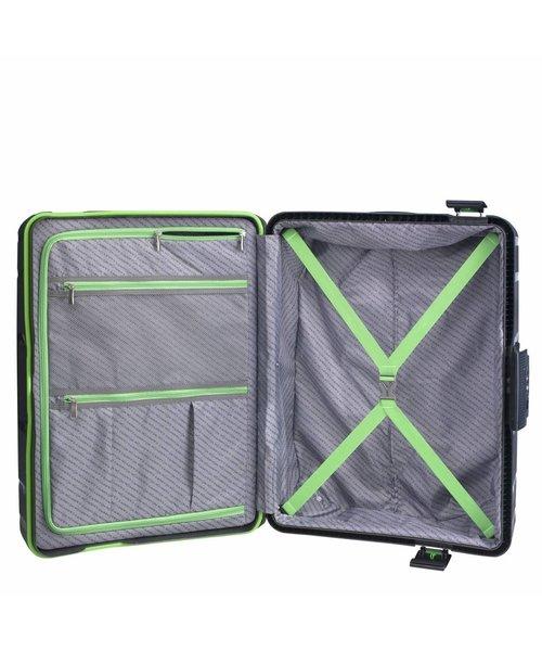 CarryOn Steward Spinner 2-Delige Kofferset Tsa Zwart