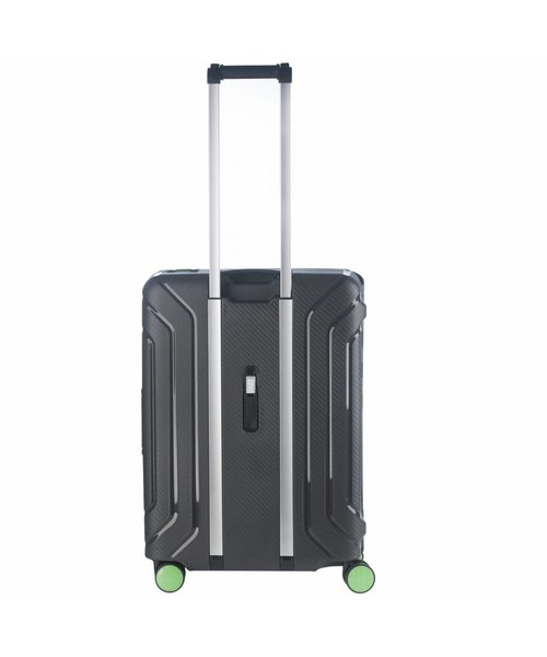 CarryOn Steward Spinner 65cm Zwart Medium Tsa 70 Liter