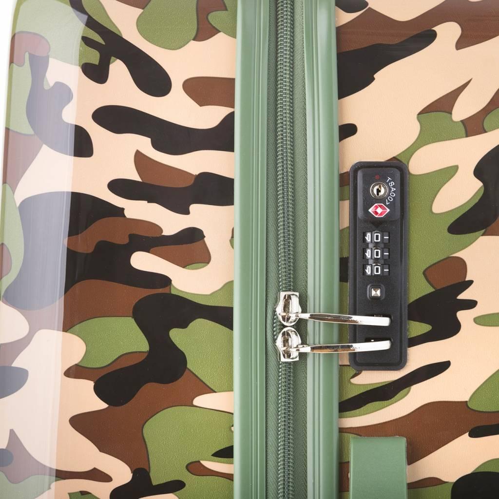 243d28209c1 Travelz Camouflage-Print Koffer Groot €59,99 - KofferStunter