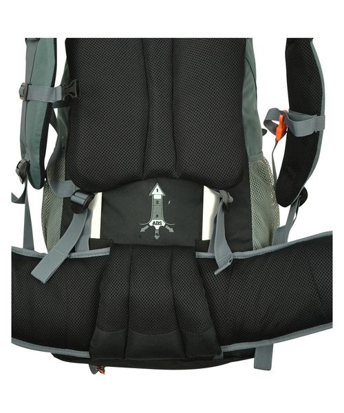 Abbey Backpack Rugzak Summit-55 Liter Grijs 73X33X24cm